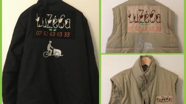 Recyclage de vêtements et broderie personnalisée