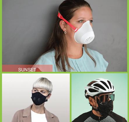 Les cyclistes et la pollution